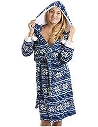 Camille - Robe táctil de seda suave nórdica azul ...