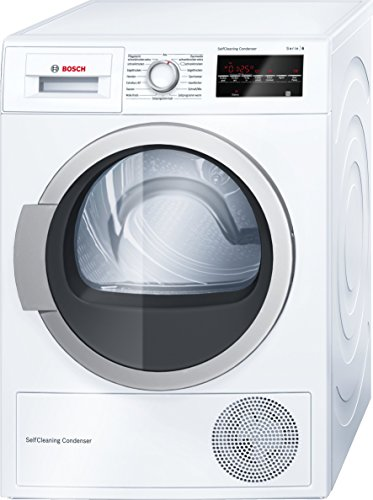 Bosch WTW85460 Wärmepumpentrockner / A++ / 7 kg / Selbstreinigender Kondensator / weiß -