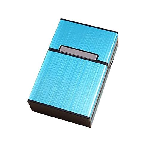 Tabak Lagerung (Llxxx Zigarettenetuis-2 Stück Aluminiumlegierung Zigarettenetui Zigarre Tabak Lagerung Aufbewahrungstasche Box, D)