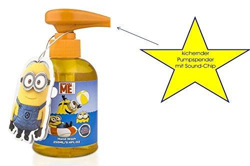 Minion Flüssigseife mit kicherndem Pumpspender - Ich - Einfach Unverbesserlich
