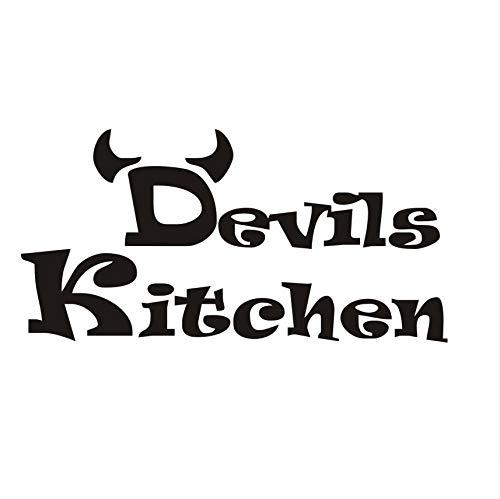 Zybnb Günstige Einfache Design Devils Wandaufkleber Küche Zimmer Dekoration Diy Vinyl Wandaufkleber Home Decals Kunst Poster Papiere