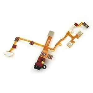 Ersatzteil Apple iPhone 3G, 3GS Audio Jack Flex Kabel Black