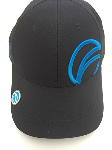 Fayde Golf Baseball Cap with Magnetic Ball Marker, 3D Embroidered Logo and contrast colour Sandwich Peak