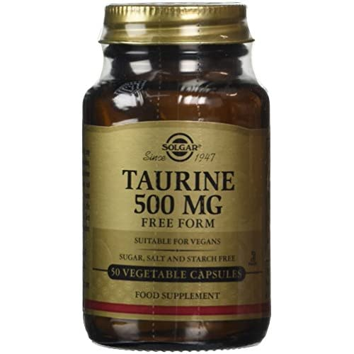 414JG3Gnd0L. SS500  - Solgar Taurine 500 mg Vegetable Capsules - Pack of 50
