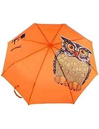 YSKGZ Paraguas Plegables Ligero Original Animal Impreso Automático 3 Plegado Paraguas Mujeres A Prueba De Viento