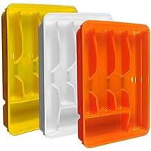 Cubertero de cajón PVC cm.32x 26x h4,53colores