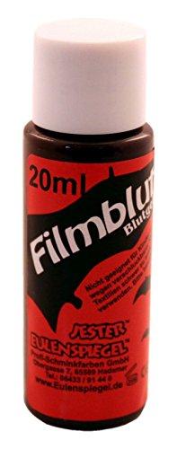 Eulenspiegel Film Blut hell, 1er Pack (1 x 20 ml) (Nicht Tragen Ein Kostüm)
