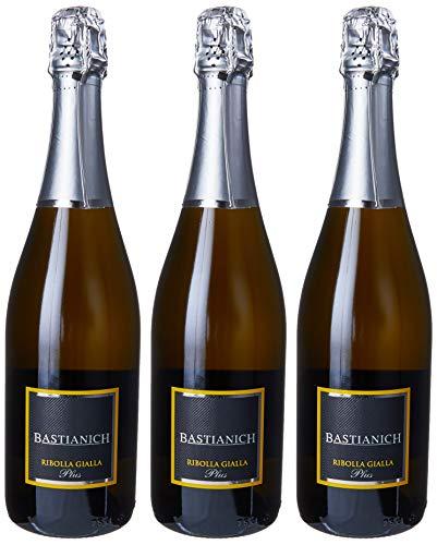 Bastianich Ribolla Gialla Plus Spumante - 3 bottliglie da 750 ml