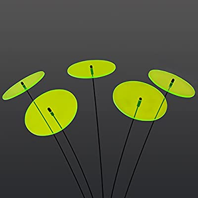 """SUNPLAY """"Sonnenfänger-Scheiben"""" in GRÜN, 5 Stück je 10 cm Durchmesser im Set + 35 cm Schwingstäbe von SUNPLAY auf Du und dein Garten"""