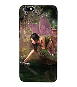 ColourCraft Lovely Angel Design Back Case Cover for HUAWEI HONOR 4X