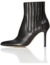 FIND Women's Stiletto Leather Boots