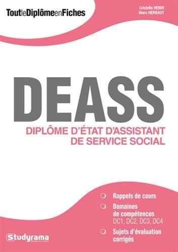 DEASS : diplôme d'Etat d'assistant de service social