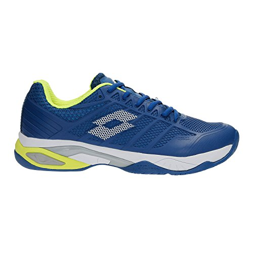 Lotto Viper Ultra IV SPD, Scarpe da Tennis Uomo, (Blu Oil/Wht 010), 44 EU
