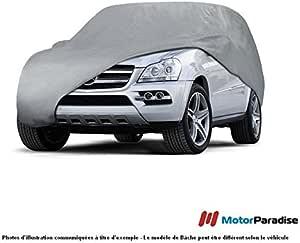 Abdeckplane Autoabdeckung Frostschutz Schneeschutz Wasserdicht Mobile XL Sedan kompatibel mit Mercedes CL C215 1999-2006 universal