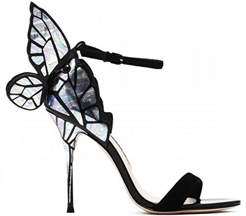 HYLM exquisite High-End-kundenspezifische Schuhe Damen Sandalen für VIP-Schmetterling-geflügelten...