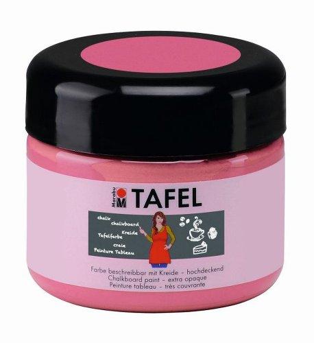 Marabu 025925132 - Tafelfarbe, 225 ml, pink candy