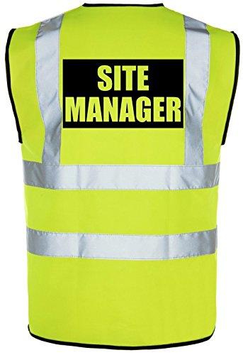 site-manager-hi-vis-high-viz-visibility-safety-vest-waistcoat-yellow-orange