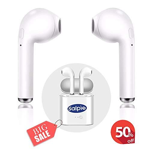 Cuffie bluetooth wirless senza fili sport cuffie stereo in-ear con microfono auricolari sportivi compatibili con tutti i dispositivi samsung iphone lg huawei xiaomi