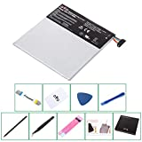 replacement battery C11P1303 for Asus Google Nexus 7 2013 2nd Gen II Tablet and tools for free