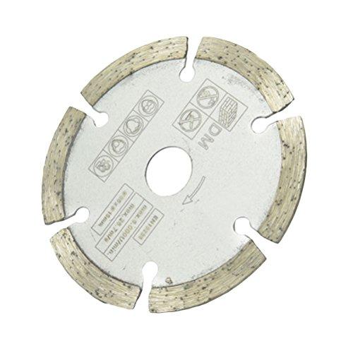 ounona Mini Diamanttrennscheibe cut off Dics Kreissägeblatt Slice 85mm für Edelsteine Glas Stein
