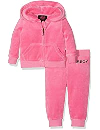 Juicy Couture Logo Certified Glam Track Set, Chándal para Bebés