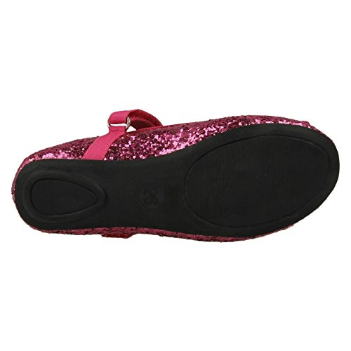 Filles Cutie style 376 Parti Chaussures Fuchsia