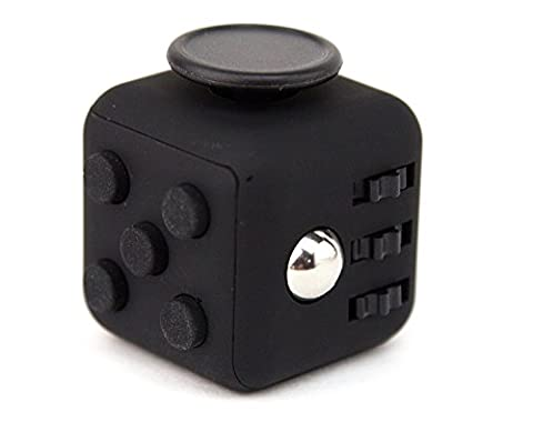 iFidget Premium Fidget Cube - Silicone and ABS Material - Executive Packaging - Gift - Desk Toys for Adults and Children - Stress Relief