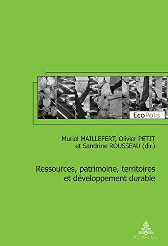 Ressources, Patrimoine, Territoires Et Developpement Durable (Ecopolis)