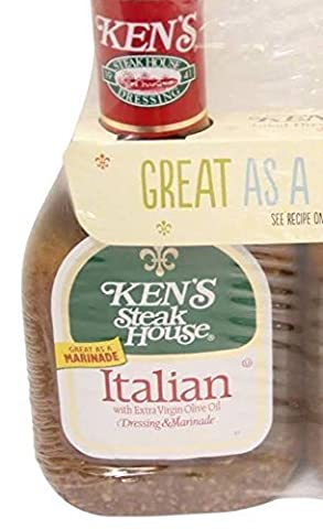 Ken's Steak House Italian Dressing & Marinade With Extra Virgin