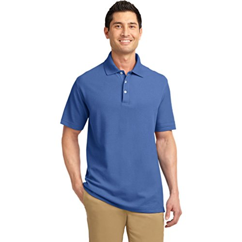 port-authority-tall-ezcotton-polo-pique-tlk800-bleu-xxx-large
