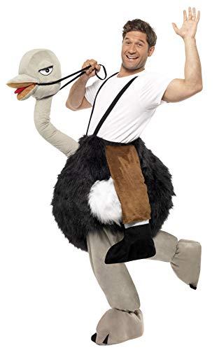 Smiffys, Herren Strauß Kostüm, Hose, One Size, - Strauß Kostüm Kind