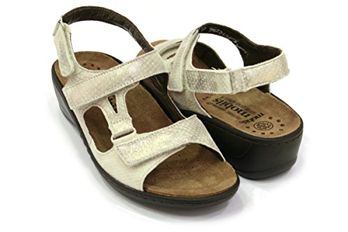 MEPHISTO scarpe SANDALO DONNA JASMINE SAVANA 12912 LT SAND PE17