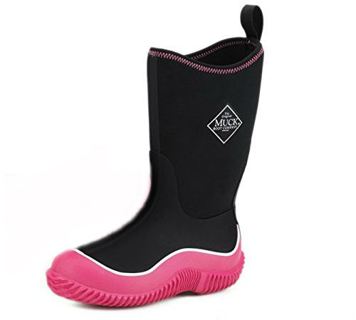 The Muck Boot Company Kids Hale Purple/Lavender, The Original Neoprene lined wellie - for KIDS!