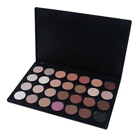 OVERMAL Pro 28 Color Neutral Warm Ombre à paupières Palette Eye Shadow Maquillage Cosmétiques