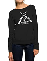 Hunting Club Sweater Girls Negro Certified Freak