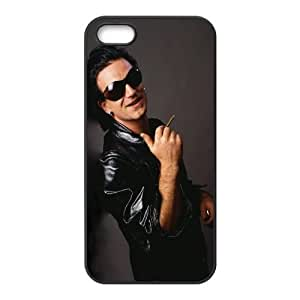 iPhone 5 5s Cell Phone Case Black U2 YVA Phone Cases For Htc