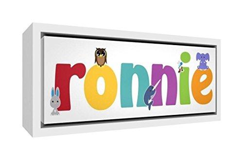 Little Helper Napperon avec Coaster Style Illustratif Coloré avec le Nom de Jeune Garçon Ruben