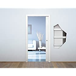 CONTROTELAIO pour porte rétractable KIT plâtre 700 x 2100 art.EKCI070SB Eclisse