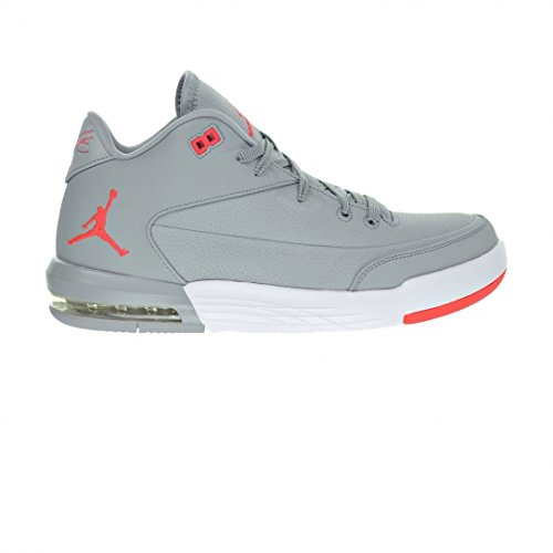 Nike Jordan Flight Origin 3, Scarpe da Basket Uomo, Gris (Gris (Wolf Grey/Infrared 23-White)), 40 EU