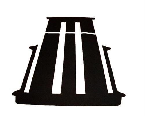 Preisvergleich Produktbild Komplett Teppich Fußmatte hinten VW T5 Multivan 2 Schiebetüren mit Schiebetisch