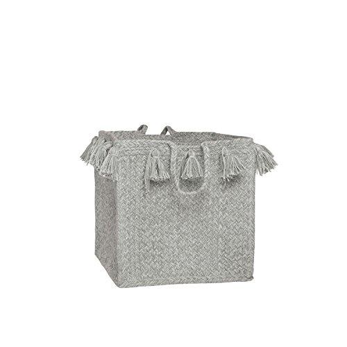 Tapis enfant Coton rond gris IDA Nattiot