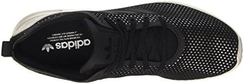 adidas Damen Zx Flux Adv Smooth W Sneakers Schwarz (Core Black/Core Black/Core White)