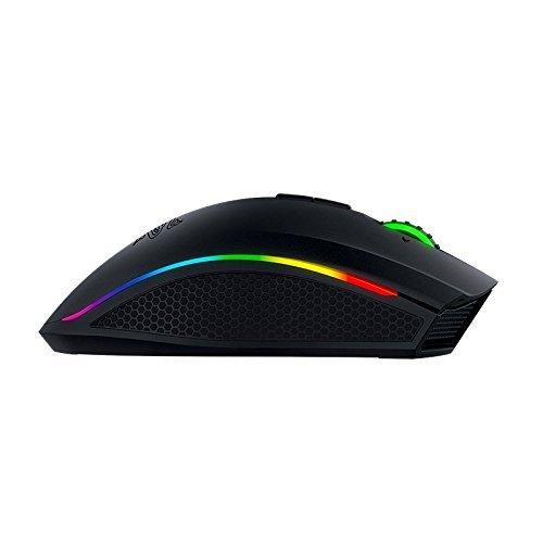 Razer Mamba Wireless Edition RGB Beleuchtete Ergonomische Gaming Maus (Präziser 16.000 dpi Sensor mit 9 programmierbaren Tasten) - 7