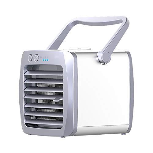 Ultra Antibakterielle Flüssigkeit (Klimaanlage Tragbare Lüfter 2 in 1 USB Mini elektrischer Ventilator Persönlicher Raumkühler Luftbefeuchter Luftreiniger persönlich Klein Tisch-Tischventilator 3 Geschwindigkeit Büro Draussen Reise)