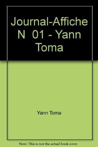 Journal-Affiche N  01 - Yann Toma