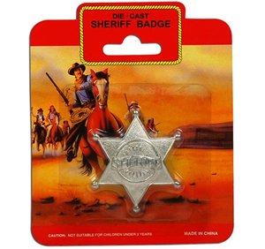 Sheriff Badge - Metal