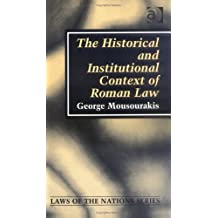 Roman Law and the Origins of the Civil Law Tradition (Laws of the Nation)