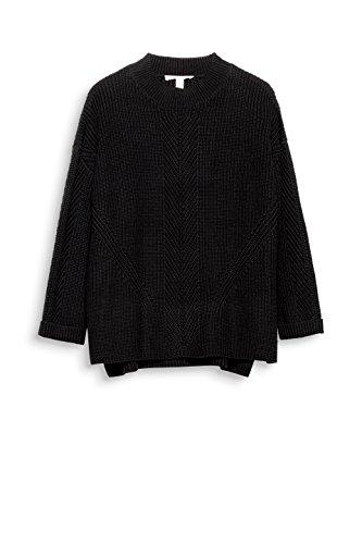 Esprit, Pull Femme Noir (Black 001)
