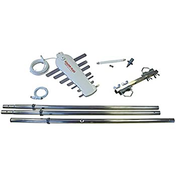 Jockey Wheel 3 Section Mast Kit and 5m Cable perfect for caravans,motor homes,boats etc Vision Plus Image 620 4G Digital Directional TV Aerial