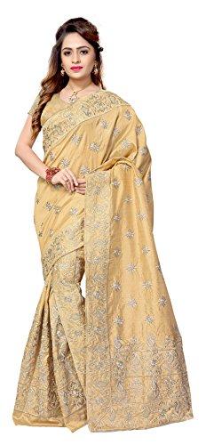 S Kiran'S Silk Saree (Mugaantiq_Biege)